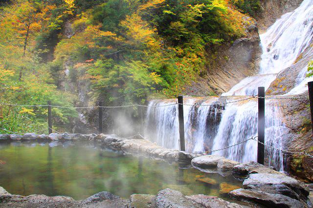 姥ヶ滝と親谷の湯