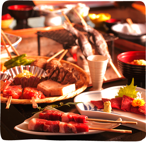 Hakusan Charcoal-Grilled Cuisines