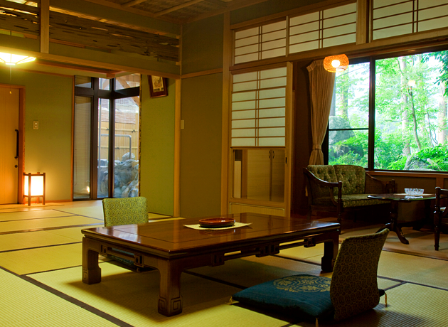 [ Special Suite with an Open-air Onsen Bath ] Miyano-ma