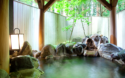 A selection of Private Onsen Baths