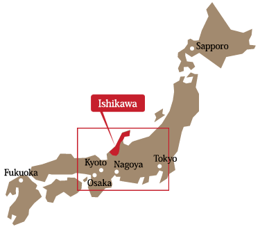 Directions Maps1hour drive from Kanazawa 90minute drive from